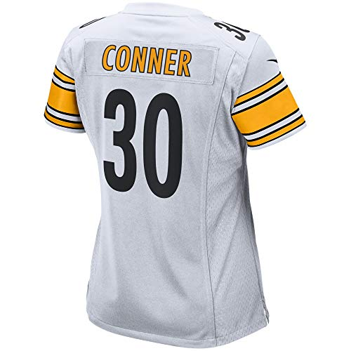 Men's/Women's/Youth_Pittsburgh_#30_James_Conner_White_Game_Jersey