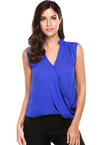 Uvog - Camiseta sin mangas - para mujer azul azul oscuro Large