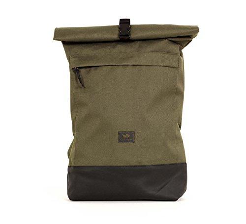 Freibutler - Bolso Courier bag I Olive