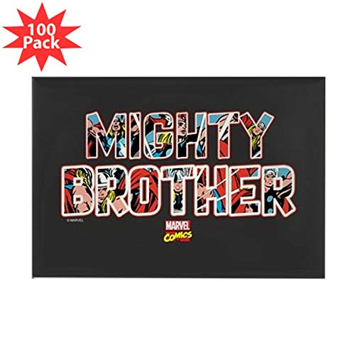 CafePress Thor Brother Rectangle Magnet (100 pack)