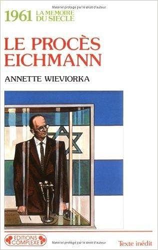 Procés de Eichmann -1961 pdf, epub
