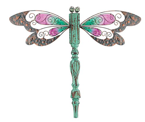 Regal Art Gift Country Wood Dragonfly Standing Art