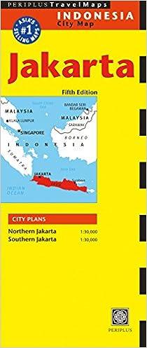 Jakarta Travel Map Fifth Edition Periplus Travel Maps ...
