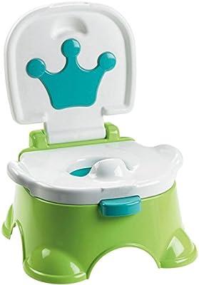 MultiWare beb/é orinal inodoro Kids Verde m/úsica orinal formaci/ón asiento verde verde