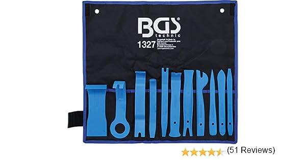 Juego de piezas sacamolduras interiores BGS 1327 11 piezas