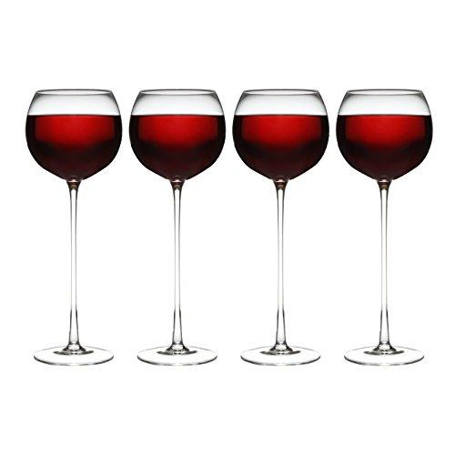 (Set of 4 Long Stemmed Wine)