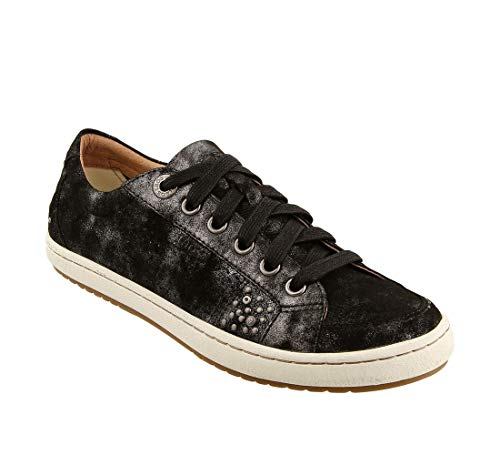 Taos Footwear Women's Freedom Black Metallic Sneaker 8.5 M ()