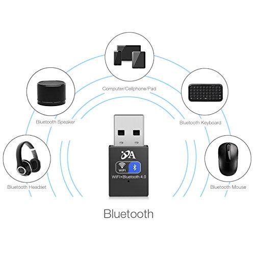 bluetooth adaptor oja bluetooth 4 0 usb dongle adapter long range wireless wifi card for pc. Black Bedroom Furniture Sets. Home Design Ideas