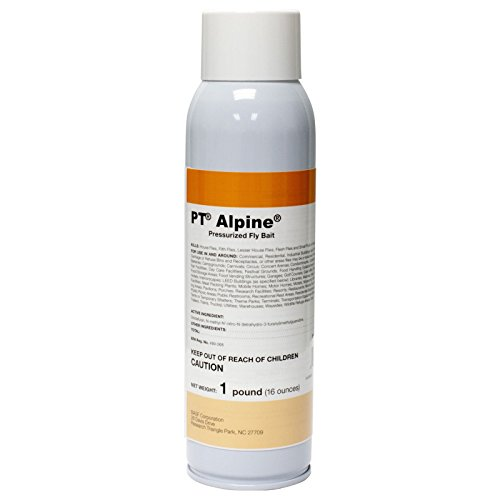 Use Fly Spray - PT Alpine Pressurized Fly Bait - 16 oz can - by BASF