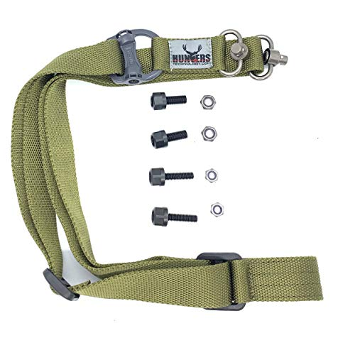 Mutnt Universal Quick Detachable Archery Bow Sling Should Strap Kit Hands Free for Mathews Bowtech PSE Hoyt Easy to Carry Compound Carrier
