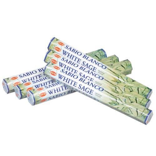 Hem White Sage Incense Bulk 6 x 20 Stick (120 Sticks)