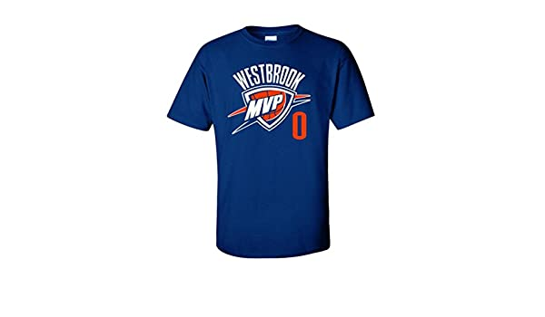 KING THREADS Russell Westbrook Oklahoma City Thunder Camiseta de MVP: Amazon.es: Deportes y aire libre