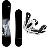 New 2015 Camp Seven Valdez Snowboard + Summit Bindings Men's Snowboard Package by Camp Seven