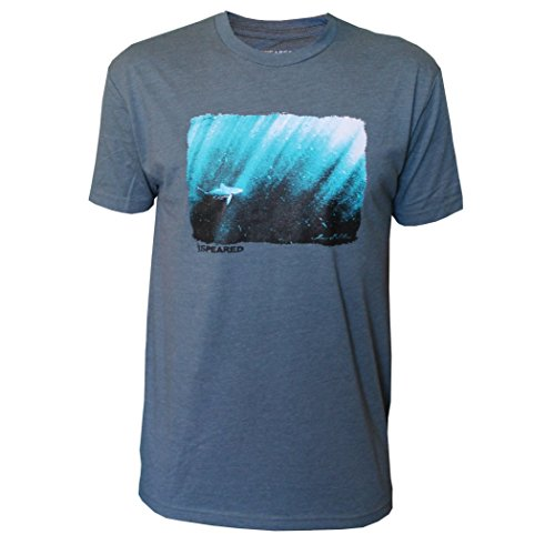 Speared Men's Debasa Shark Short Sleeve T-Shirt XX-Large Indigo