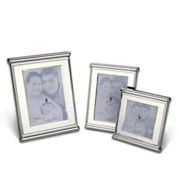 Amazon Waterford Fine Silver Pedestal Picture Frame 4x6