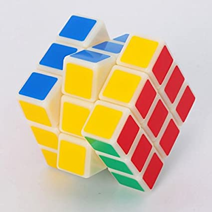 Cubetwist 3x3x3 5.5cm Magic Intelligence Test Cube White for Playing Toy & Gift