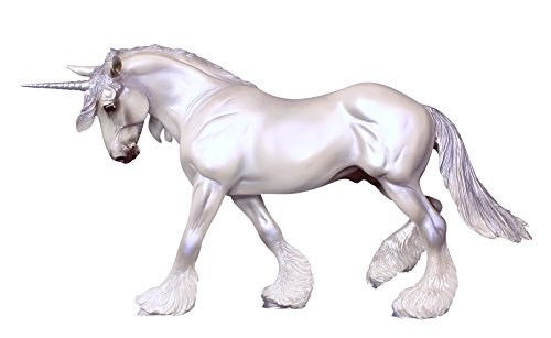 Breyer Traditional Xavier Unicorn Horse Toy Model (1:9 Scale)
