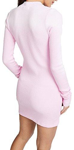 Cotton Citizen Monaco Long Sleeve Mini Dress In Light Pink Mist, XS by Cotton Citizen (Image #1)