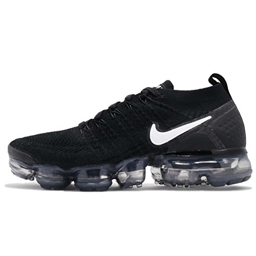 Multicolore 001 Femme Metallic Vapormax Black Sneakers White Dark Basses Grey 2 NIKE W Air Flyknit Silver fBZa8x