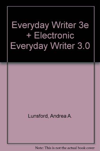 Everyday Writer 3e & Electronic Everyday Writer 3.0