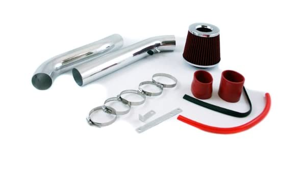 "JDM RED 95-02 Accord V6 2.7//3.0L Short Ram Air Intake Racing System Filter 3/"""