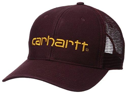 Carhartt Men's Dunmore Mesh Back Cap, Port, OFA