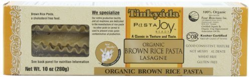 - Tinkyada Brown Rice Pasta, Lasagne, 10-Ounce (Pack of 6)