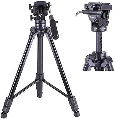 Mengen88 Trípode para cámara de Viaje, trípode de Video de ...