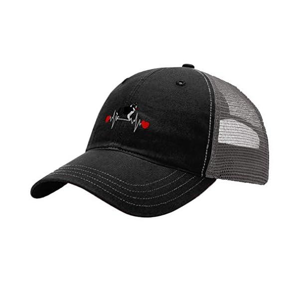 Richardson Trucker Mesh Hat Dog Border Collie Lifeline A Embroidery Hat One Size 1