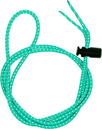 - Swimming Goggles Bungee Strap Rope Buckle Tighter to Strengthen The Elastic Rope Buckle not Easy to Trip (Aqua Green)