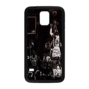 Samsung Galaxy S5 Cell Phone Case Black Miami Heat Ray Allen KOS_425270