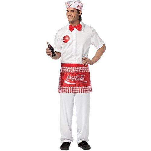 Coca- (Mens Soda Jerk Costumes)