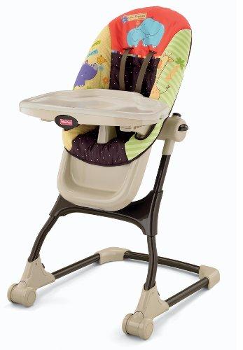 Fisher Price Luv U Zoo Ez Clean High Chair Furniture Baby
