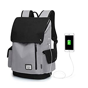 Wind Took Zaino Porta PC 15.6 Pollici Zaino Canvas Zaino da Donna e Uomo Casual Backpack Laptop Zaino Unisex Adulto per… 7 spesavip