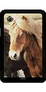 Funda para Samsung Galaxy Tab 2 P3100 - Animales Caballo Hermosa by WonderfulDreamPicture