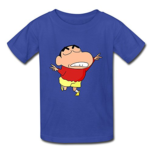 Youth Art Ring Spun Cotton Crayon Shin Chan T-Shirt