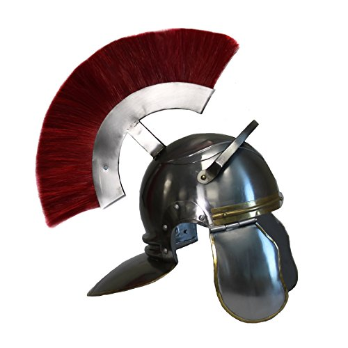 [Urban Designs Usc Trojan Football Full-Size Metal Replica Roman Centurion Helmet] (Trojan Man Costumes)