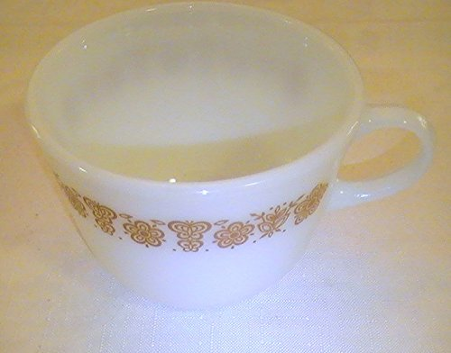 corning-pyrex-butterfly-gold-round-bottom-cups-one-1-cup