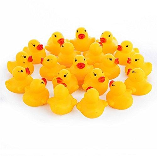 Dailyshops Mini Rubber Ducky Baby Bath Toy -