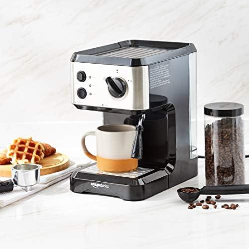 AmazonBasics Cafetière à expresso