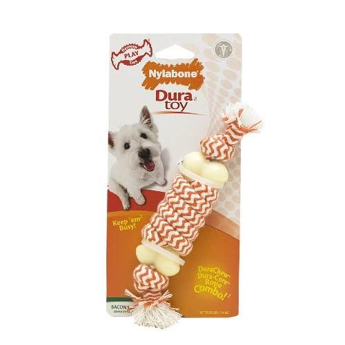 Nylabone Rhino Souper Tug Rope Dog Chew Toy new