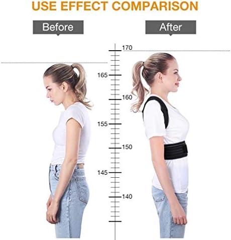 姿勢補正装置、調節可能な快適さ見えないベルト、背中のザトウクジラ、男性女性大人の学生子供