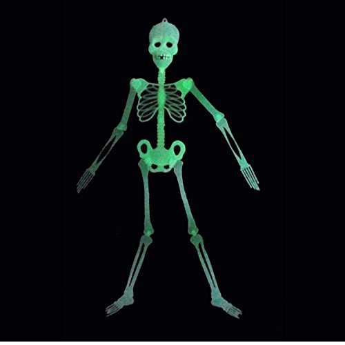 Halloween Luminous Skeleton Horror Party Skull Disco Decoration Party Props (90's Disco Costumes)