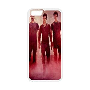 Bloomingbluerose Teen Wolf IPhone 6 Plus Case Teen Wolf 4 for Teen Girls Protective, Iphone 6 Plus Case for Women Luxury for Teen Girls Protective [White]