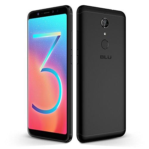 "BLU Vivo XL3 Plus - 6.0"" HD+18:9 Display Smartphone with Qualcomm Snapdragon – Black"