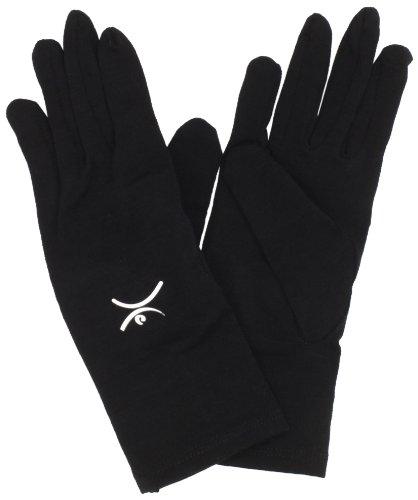 Terramar Thermawool Glove Liner, Black, Large/8.5-9