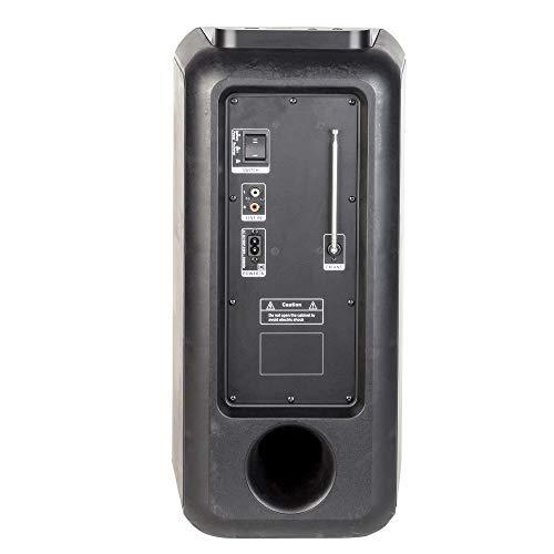 Altavoz portátil USB/SD/Bluetooth/Radio FM con Doble subwoofer de ...