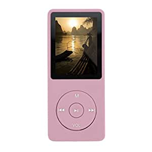 Noza Tec MP3 Music Player 16GB (Pink new style), [Importado de UK]