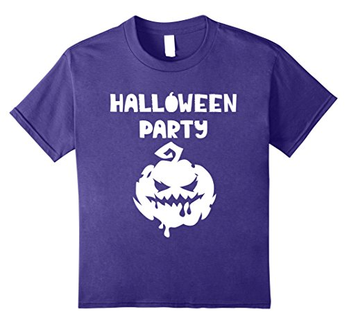 Scary Smiley Face (Kids Halloween Party - Smiley Face Pumpkin Scary - Costume 10 Purple)