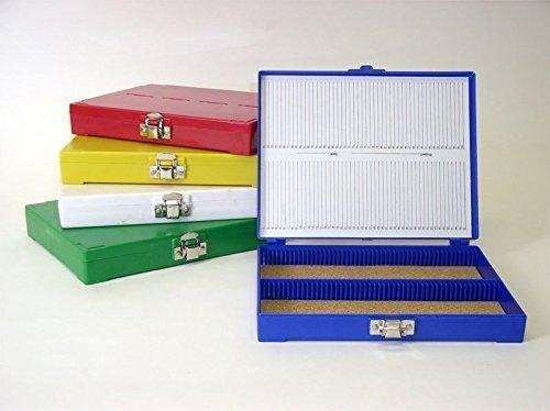 - 100 Capacity Slide Box, white (1 each.)